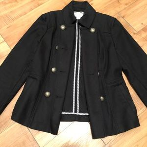 banana republic Military Style Womens Jacket Sz 4